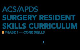 ACS/APDS Phase 1 - Core Skills